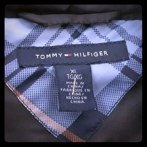 Tommy Hilfiger down/feather long puffer coat